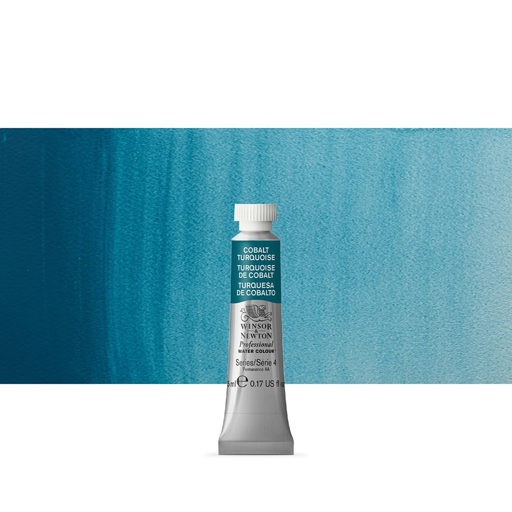 Winsor & Newton : Professional Watercolour Paint : 5ml : Cobalt Turquoise
