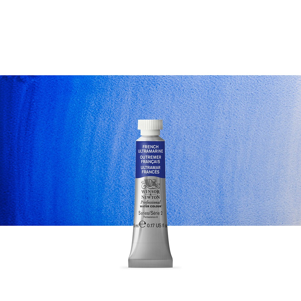 Winsor & Newton Professional Watercolour : 5ml French Ultramarine
