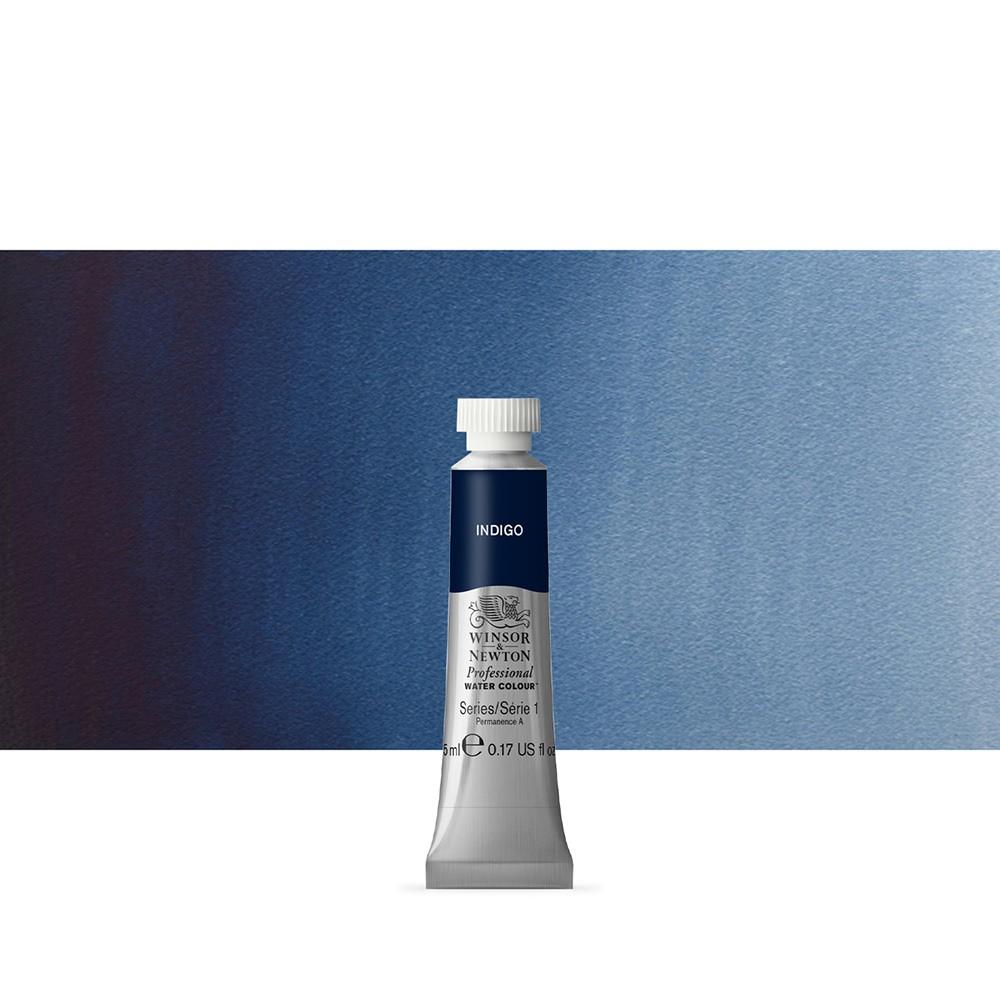 Winsor & Newton : Professional Watercolour Paint : 5ml :Indigo