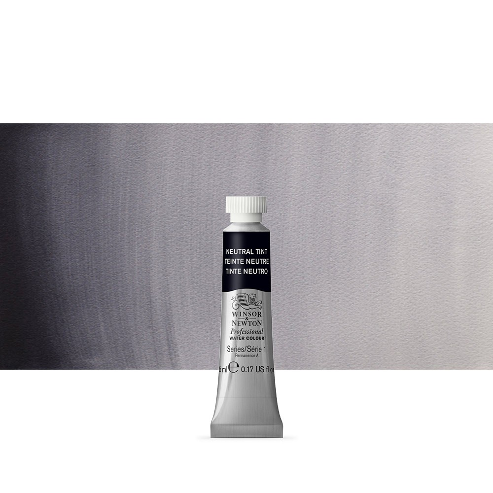 Winsor & Newton : Professional Watercolour Paint : 5ml : Neutral Tint
