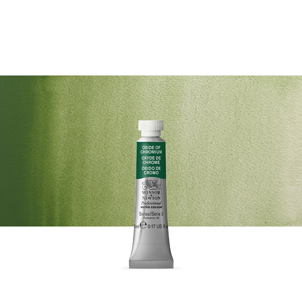 Winsor & Newton : Professional Watercolour Paint : 5ml : Oxide Of Chromium