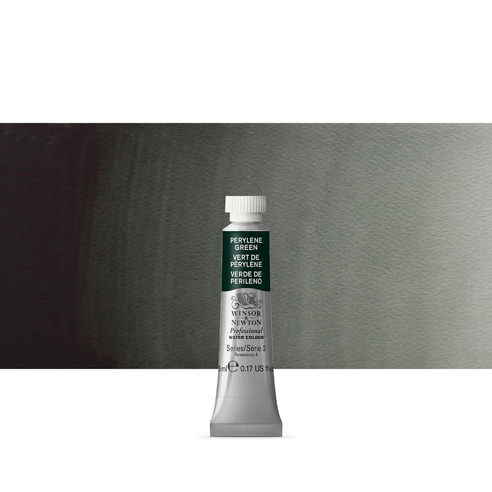 Winsor & Newton : Professional Watercolour Paint : 5ml : Perylene Green