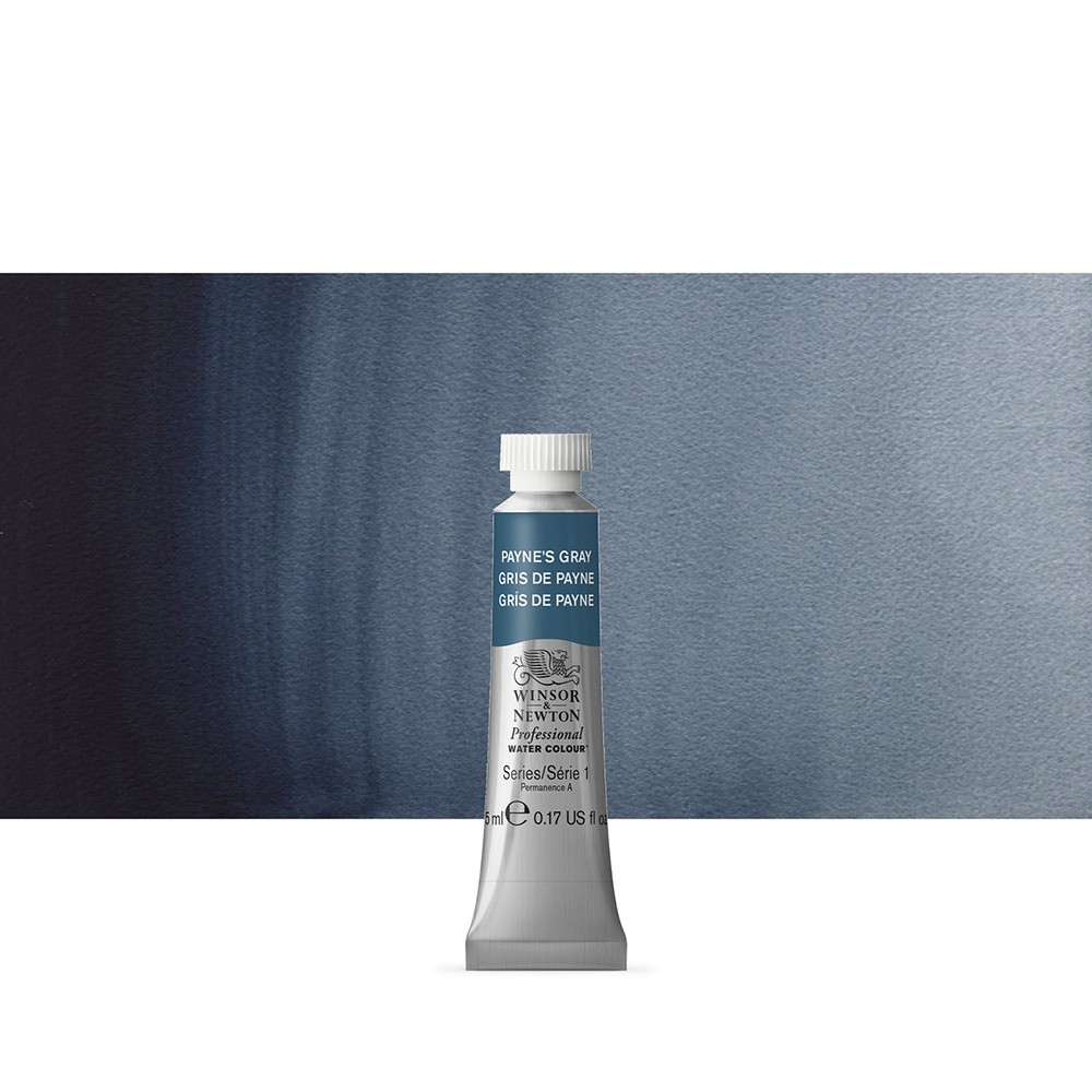 Winsor & Newton : Professional Watercolour Paint : 5ml : Paynes Grey