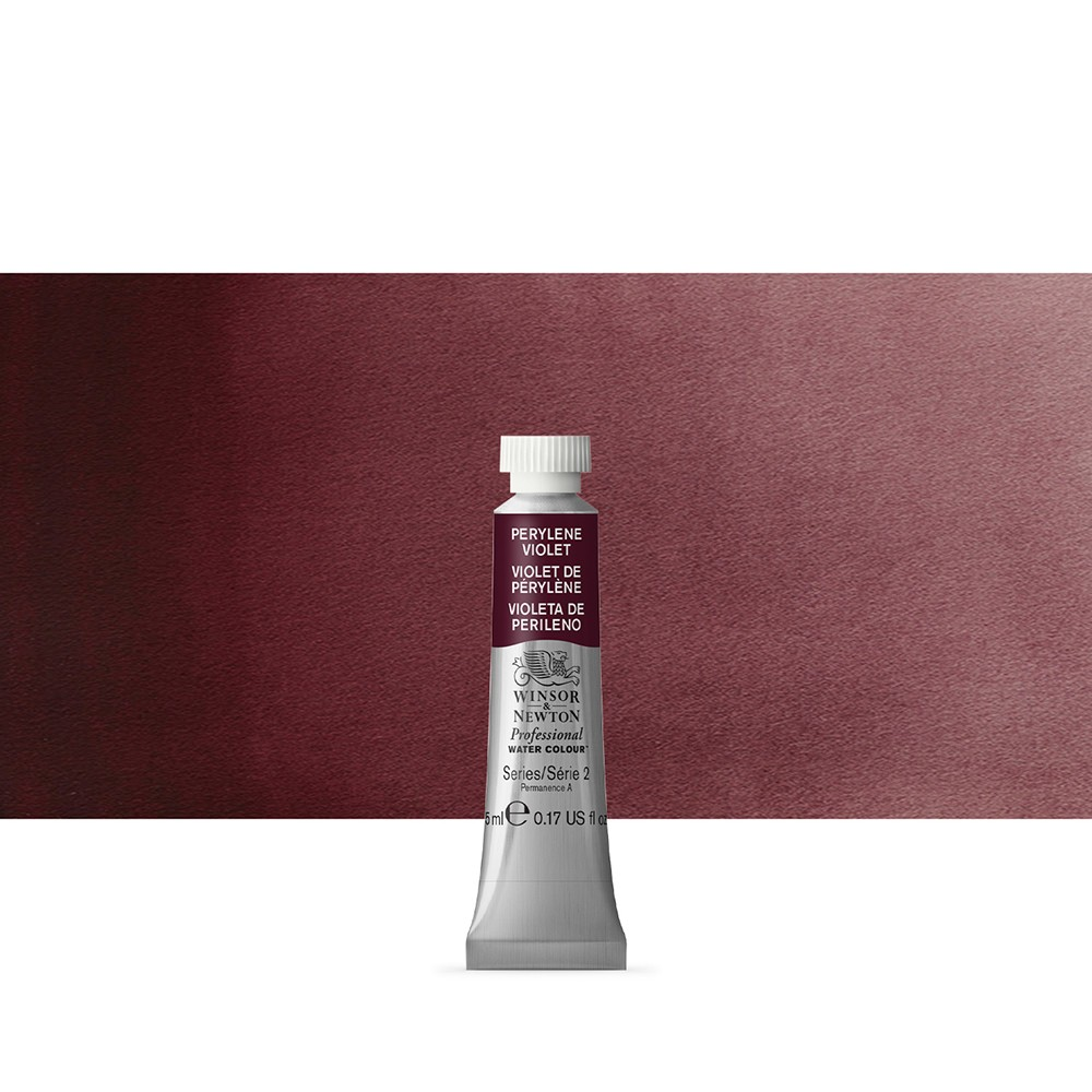 Winsor & Newton : Professional Watercolour Paint : 5ml : Perylene Violet