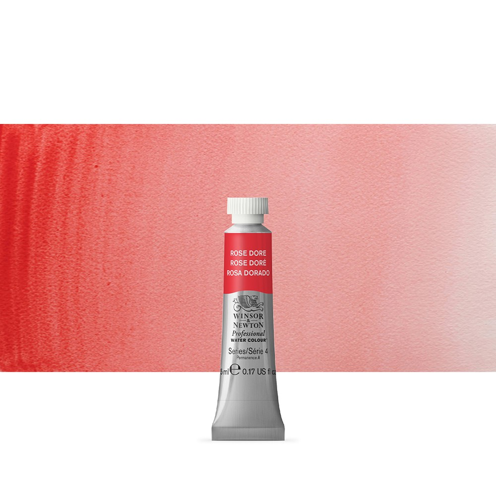 Winsor & Newton : Professional Watercolour Paint : 5ml : Rose Dore