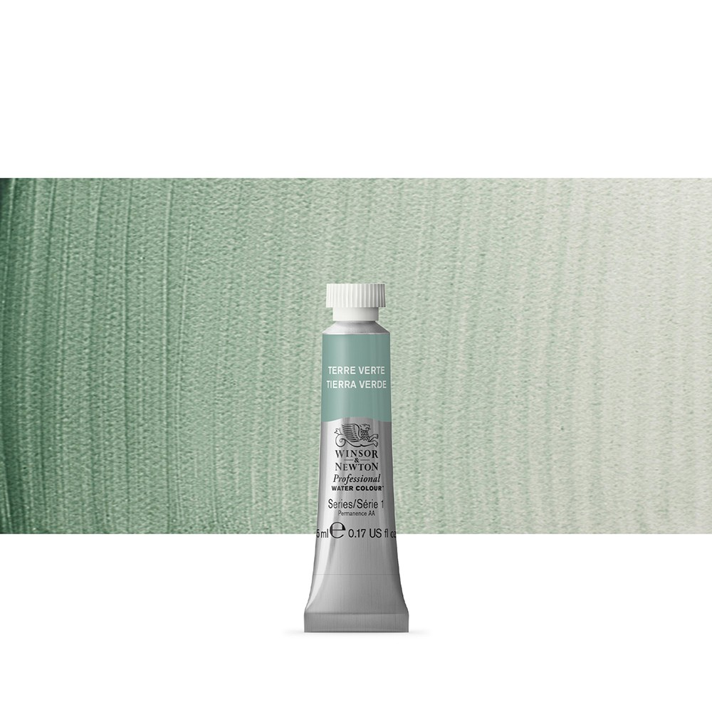 Winsor & Newton : Professional Watercolour Paint : 5ml : Terre Verte