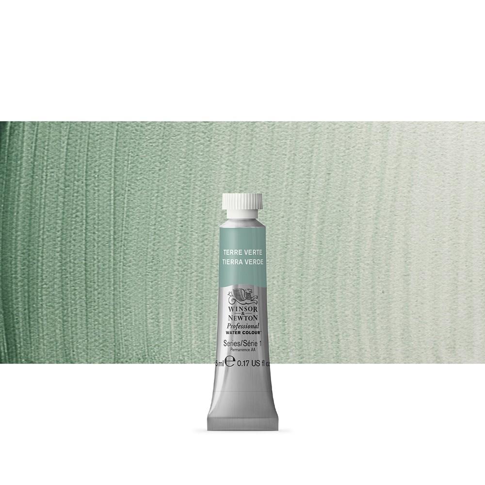 Winsor & Newton : Professional Watercolour Paint : 5ml : Terre Verte