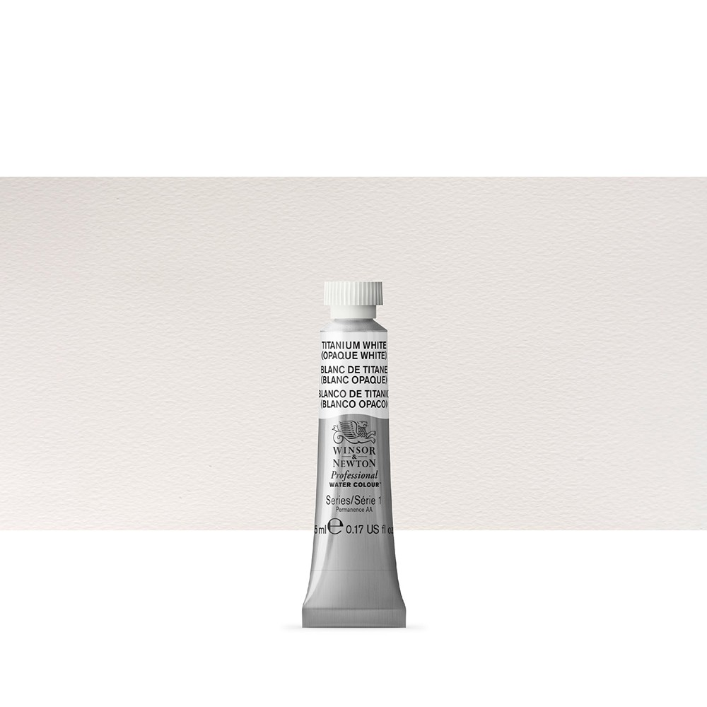 Winsor & Newton : Professional Watercolour Paint : 5ml : Titanium White