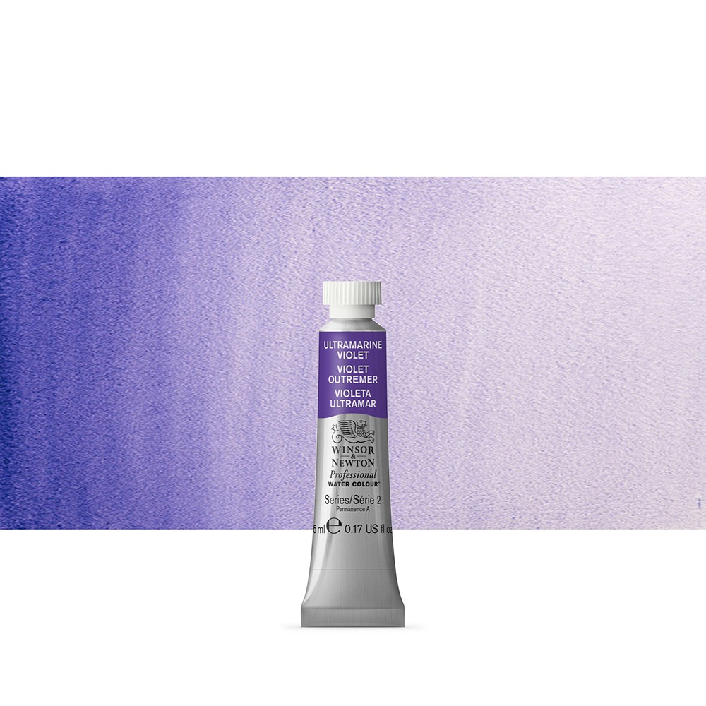 Winsor & Newton : Professional Watercolour Paint : 5ml : Ultramarine Violet
