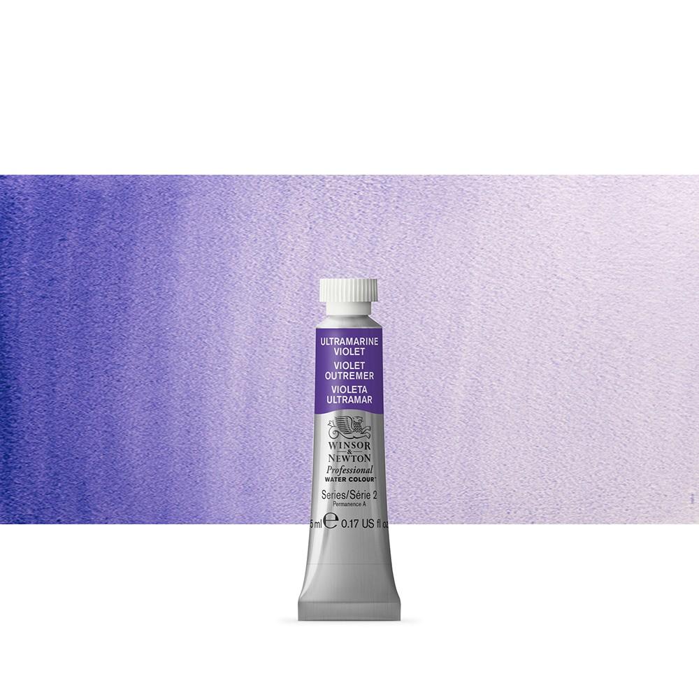 Winsor & Newton : Professional Watercolour Paint : 5ml : Ultramarine Violet