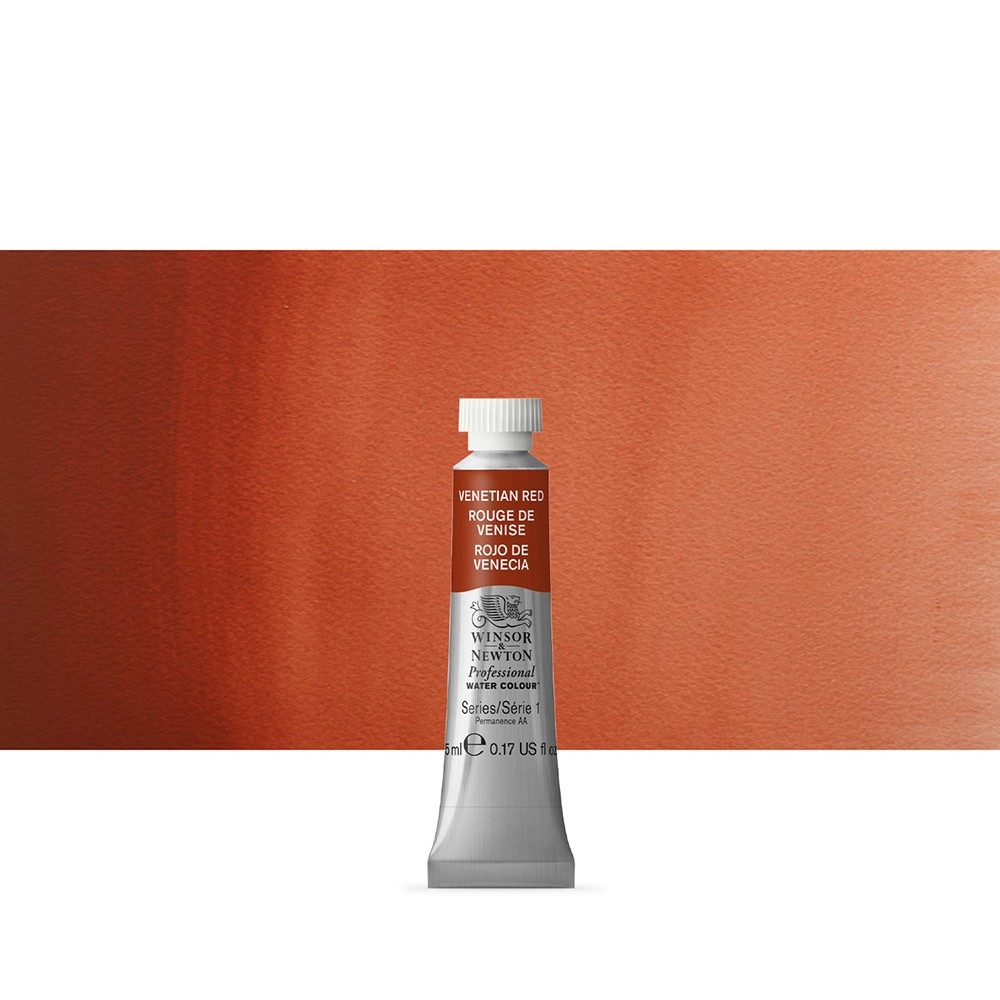 Winsor & Newton : Professional Watercolour Paint : 5ml : Venetian Red