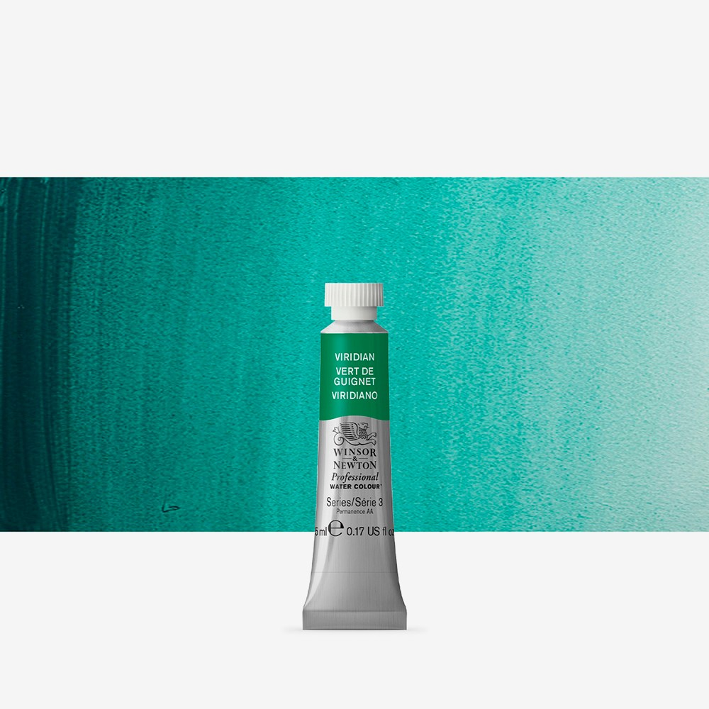 Winsor & Newton : Professional Watercolour Paint : 5ml : Viridian
