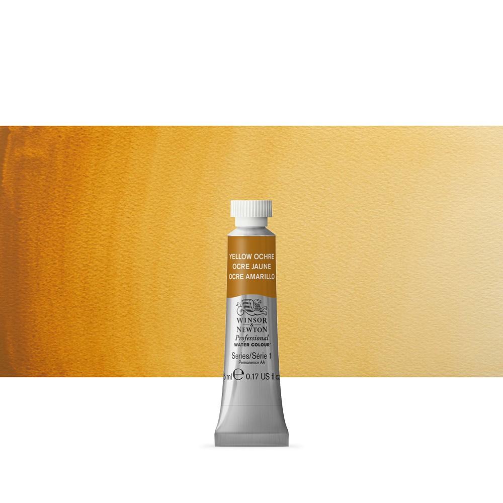 Winsor & Newton : Professional Watercolour Paint : 5ml : Yellow Ochre