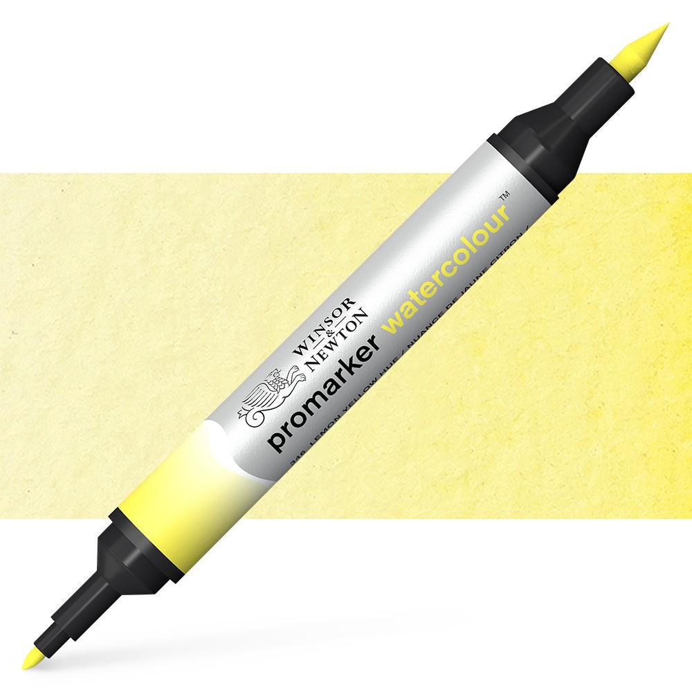 Winsor and Newton : Watercolour Marker : Lemon Yellow Hue