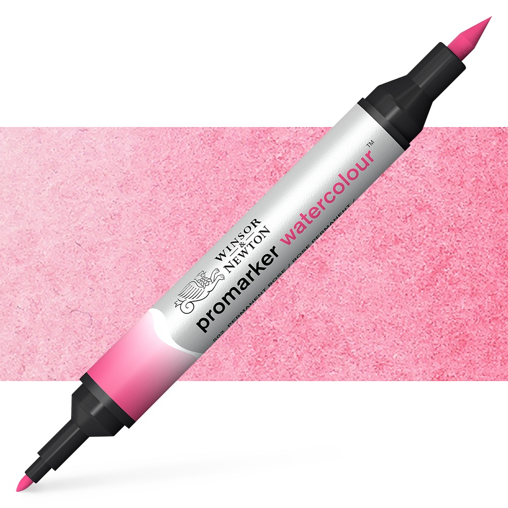 Winsor and Newton : Watercolour Marker : Permanent Rose