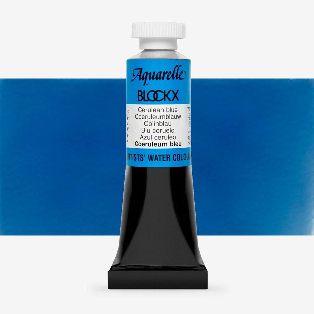 Blockx : Watercolour Paint : 15ml : Cerulean Blue