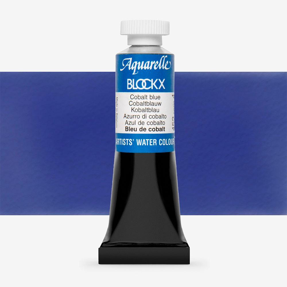 Blockx : Watercolour Paint : 15ml : Cobalt Blue