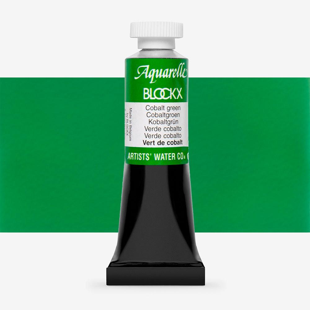 Blockx : Watercolour Paint : 15ml : Cobalt Green