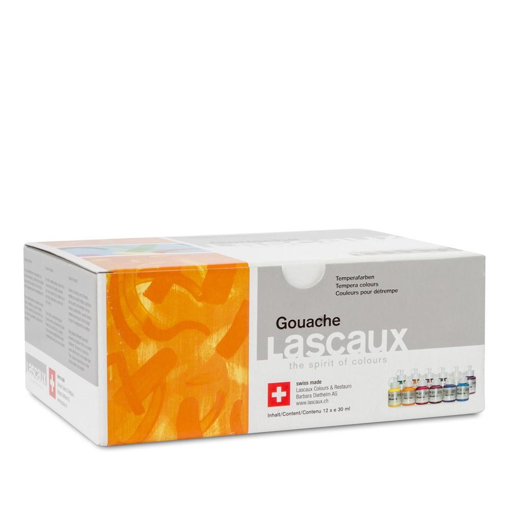 Lascaux : Gouache : 30ml : Set 12 Bottles