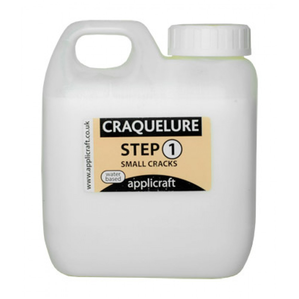 Applicraft : Craquelure Base : Medium Crack Effect : Water Based : 100 ml