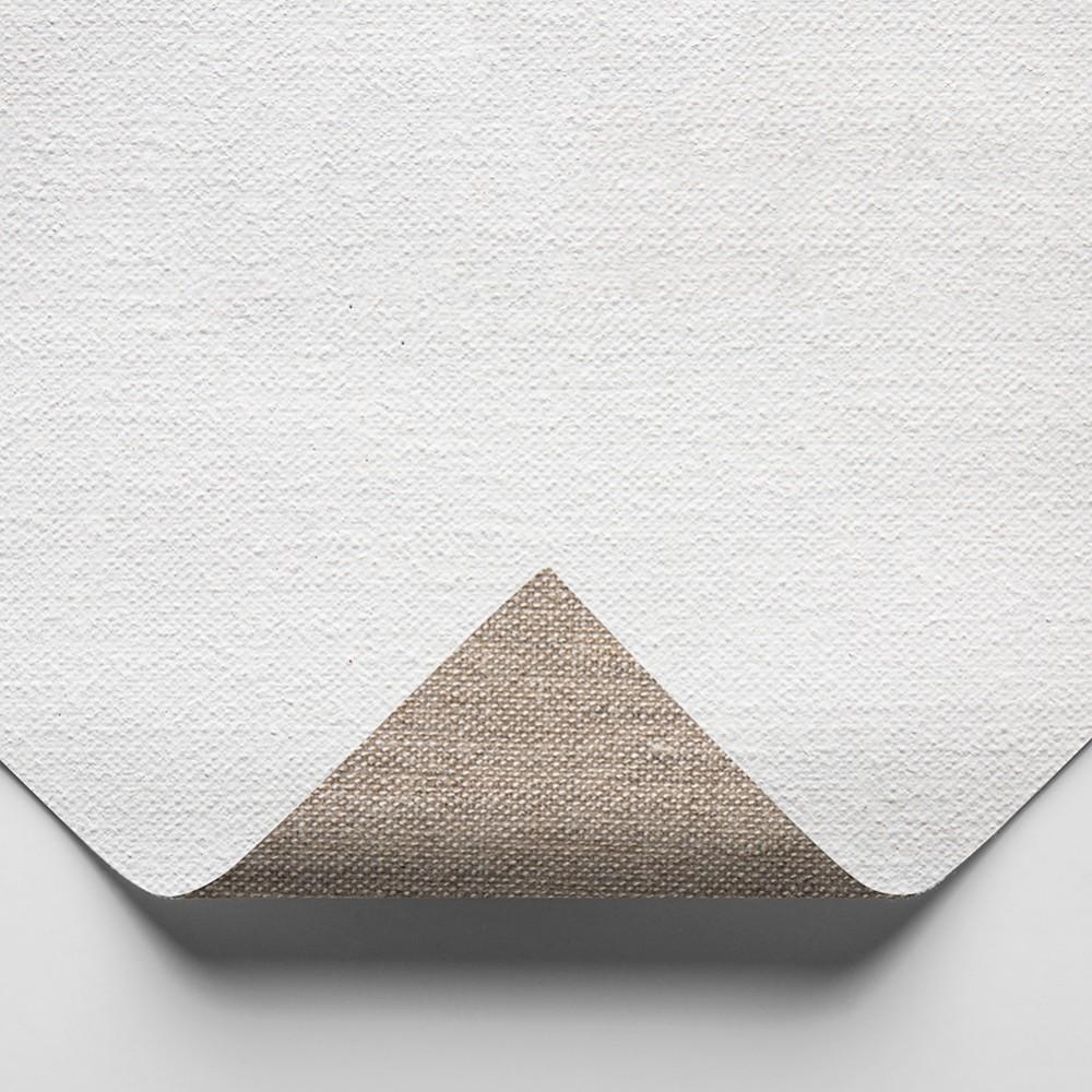 Claessens : 112 Moderately Fine Linen : 345gsm : Universal Primed : 210cm Wide : 10m Roll