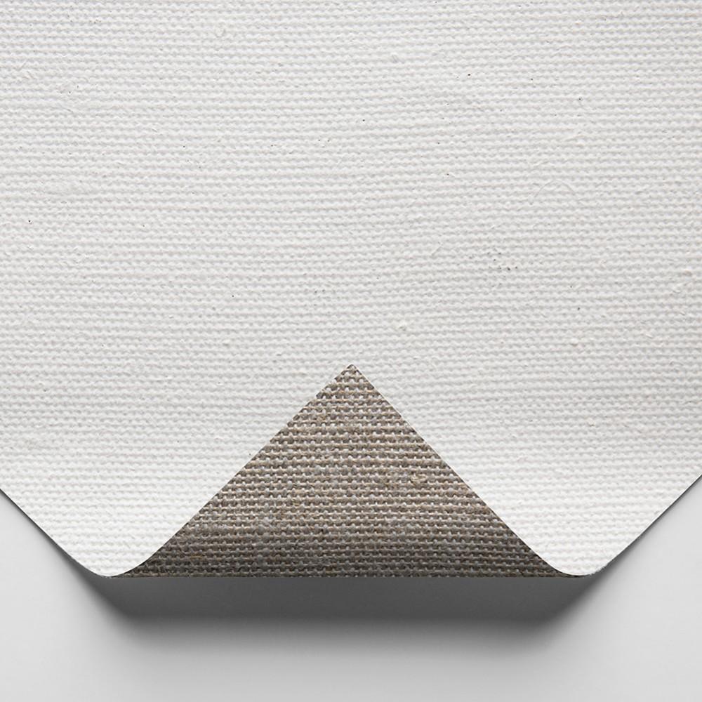 Belle Arti : 511 Medium Linen : 524gsm : Gesso Primed : 210cm Wide : 10m Roll