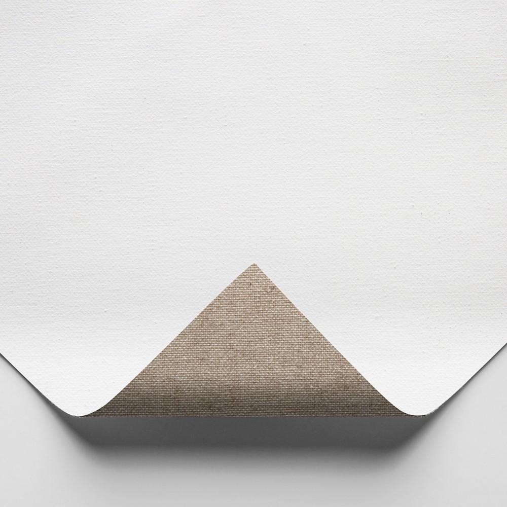 Belle Arti : 575 Ultra Fine (No Grain) Poly/Cotton : 330gsm : Universal Primed : 210cm Wide : 10m Roll