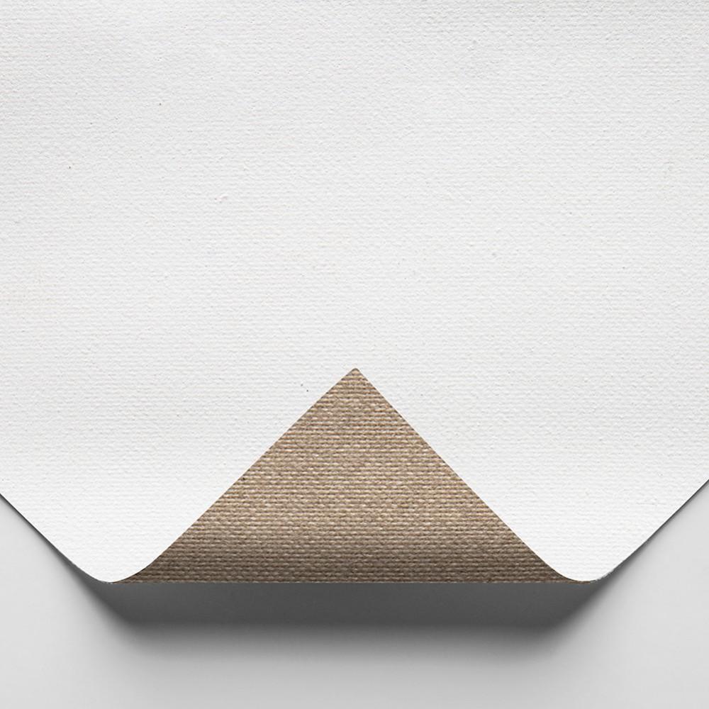 Belle Arti : 576 Medium Fine Cotton : 398gsm : Universal Primed : 210cm Wide : 10m Roll