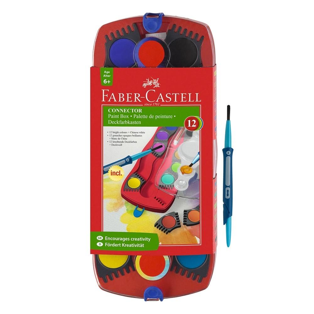 Faber Castell : Gouache Connector Box : 12 Colours