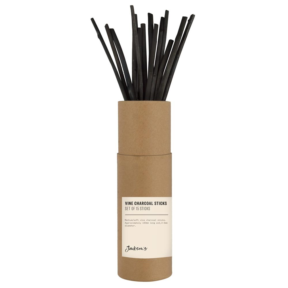 Jackson's : Vine Charcoal : Set of 15