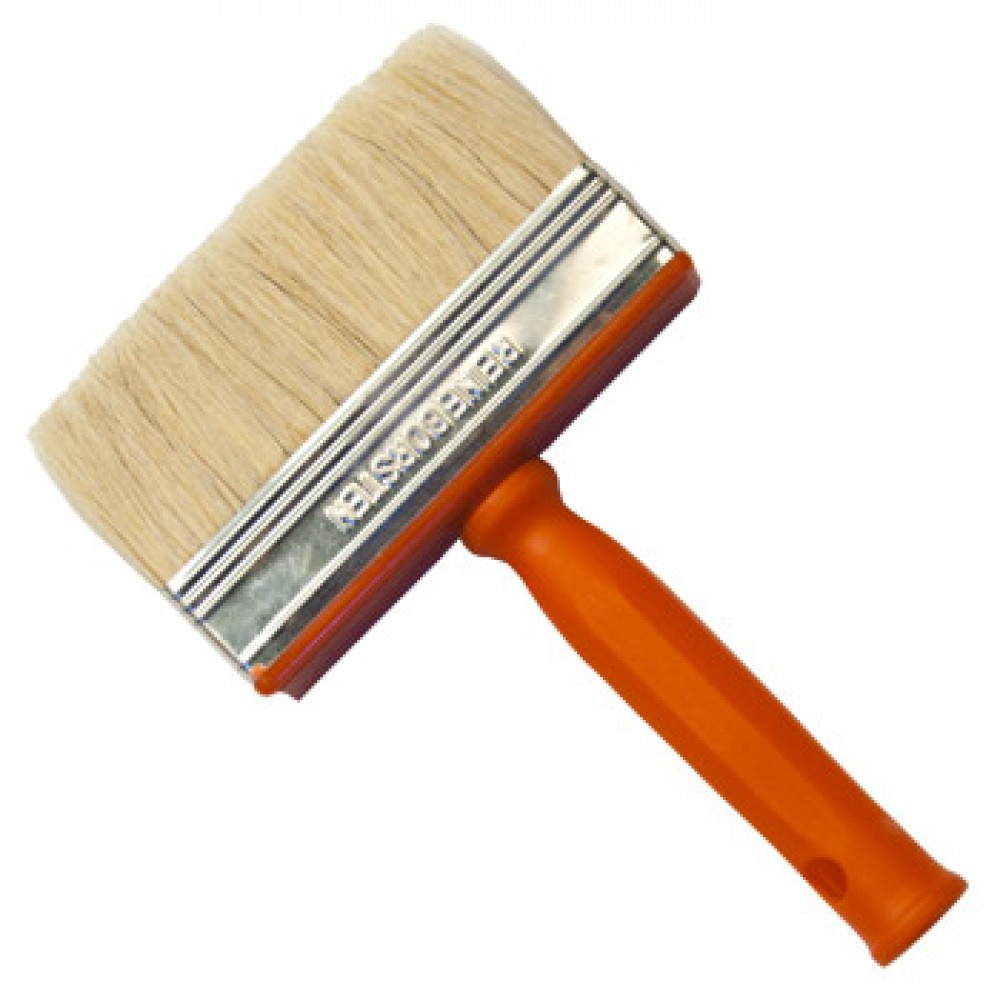 RTF Granville : Synthetic Block Brush with Plastic Handle : 7 x 17cm