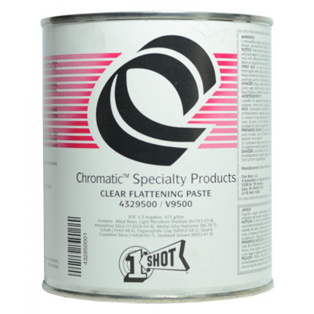 One Shot Clear Flattening Paste 946ml : By Road Parcel Only