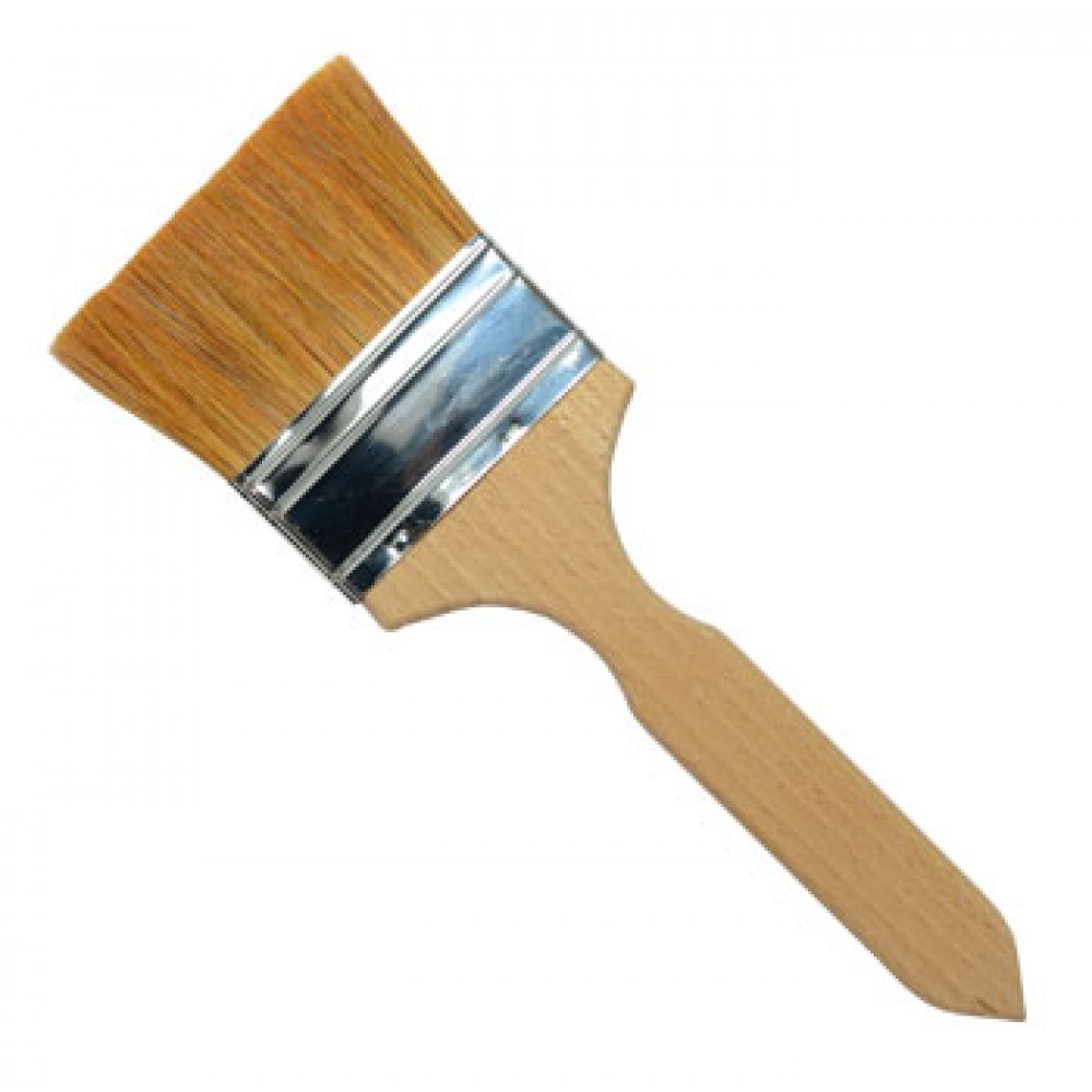 Handover : Flat Thin Ox Hair Lacquer Brush : 2 in