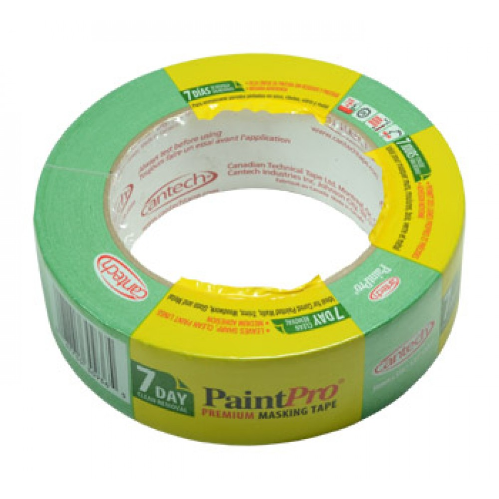 Paint Pro : Green Medium Tack Masking Tape 36mm x 55m