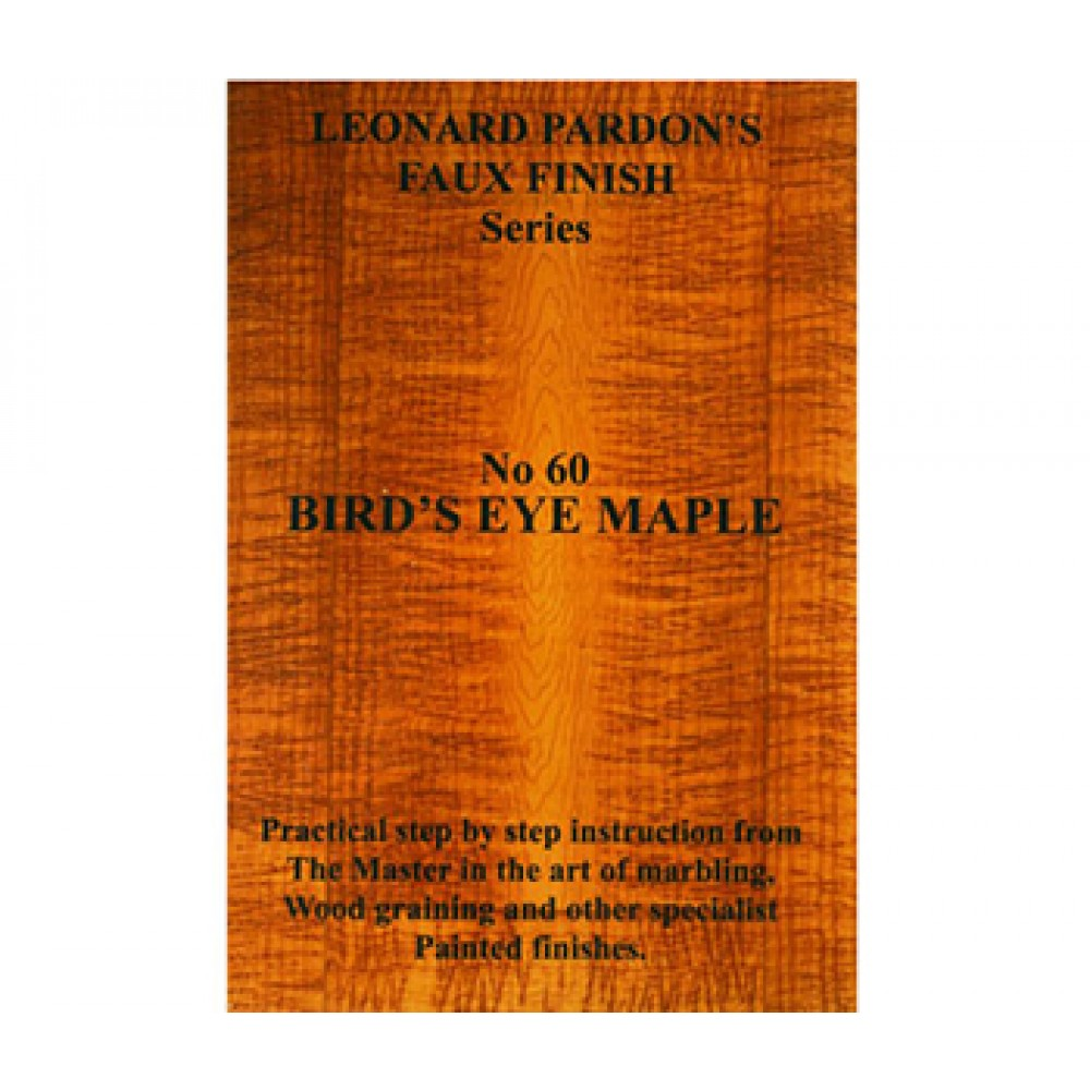Leonard Pardon : Masterstrokes DVD : Bird's Eye Maple : 28 mins