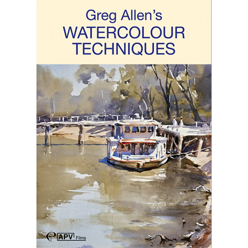 DVD : Greg Allens Watercolour Techniques
