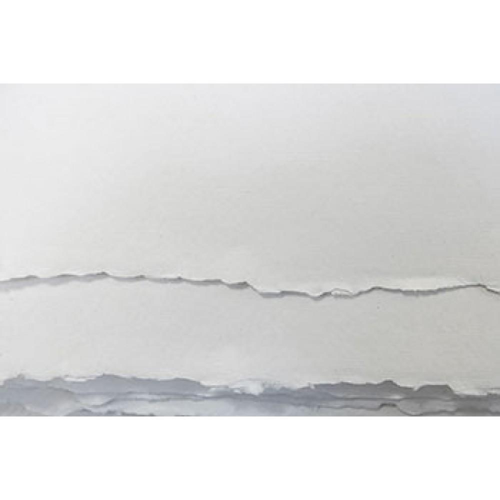 Khadi : White Rag Paper 210gsm : Medium : 30x42cm : Pack of 20 Sheets