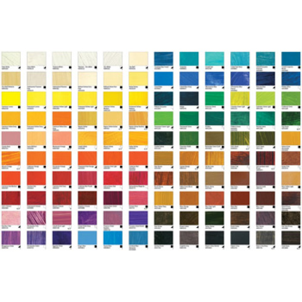 Williamsburg oil paint printed colour chart colour charts williamsburg oil paint printed colour chart nvjuhfo Image collections