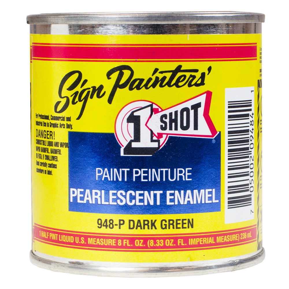 One Shot : Signwriting Enamel : Pearlescent 236ml