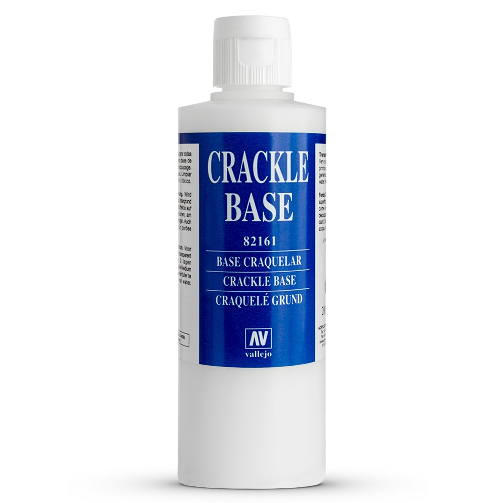 Vallejo : Acrylic Crackle Base Medium : 200ml