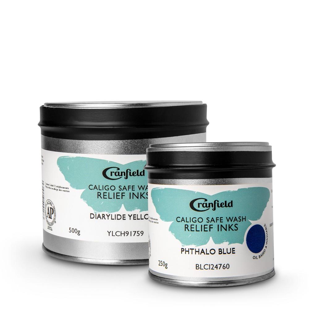 Cranfield : Caligo : Safe Wash Relief Ink