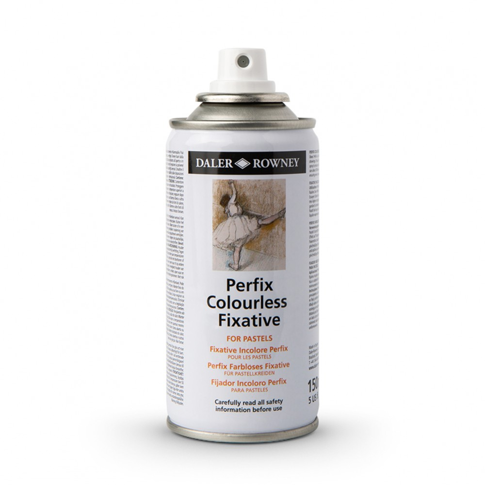 Daler Rowney : Perfix : Colourless Fixative Spray : 150ml : Ship By Road Only
