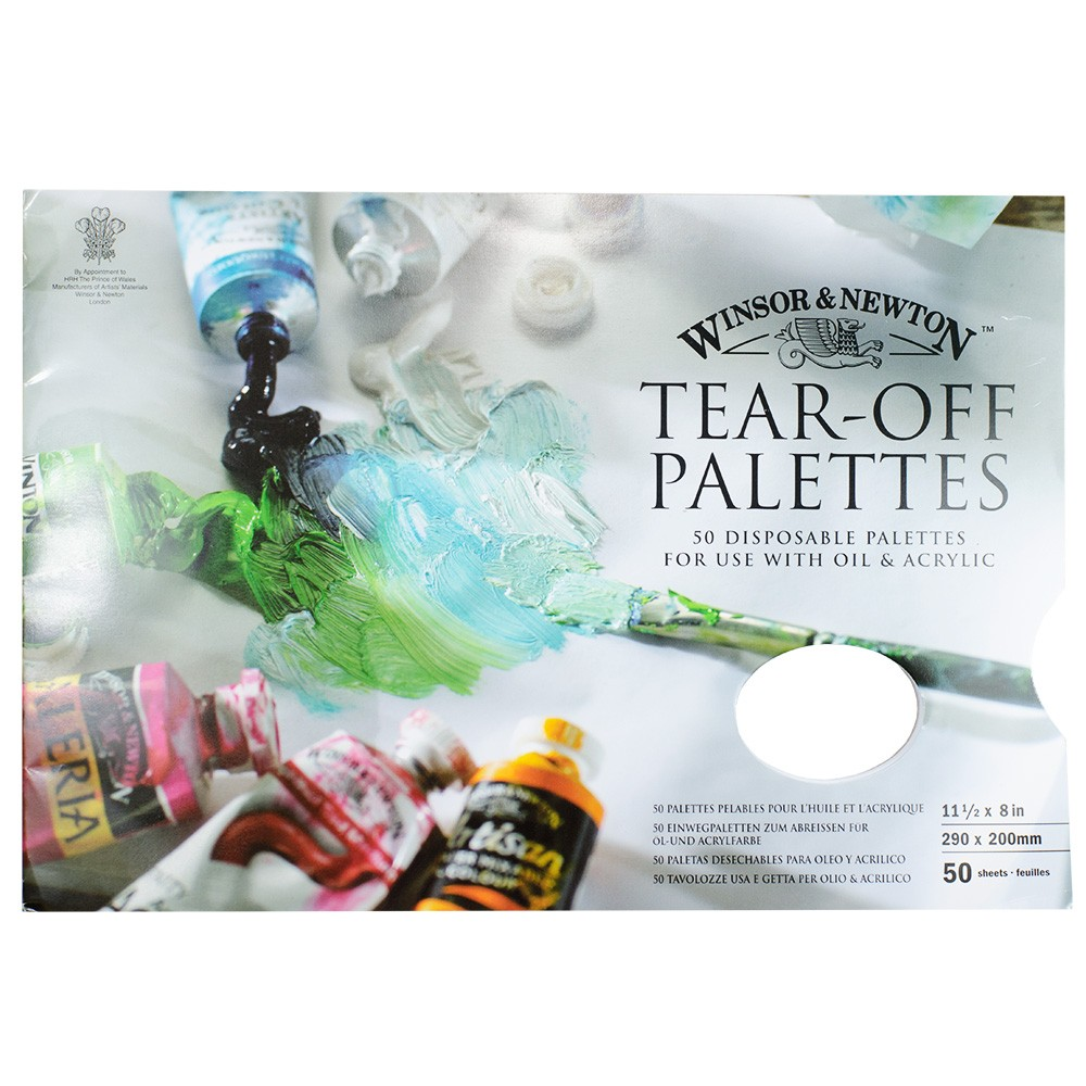 Winsor & Newton : Tear Off Palettes : For Oil & Acrylic
