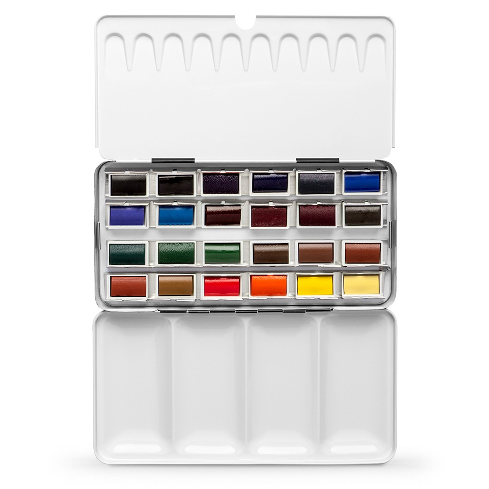 Jackson's : Artist Watercolour Paint : Full Pan : Set of 24