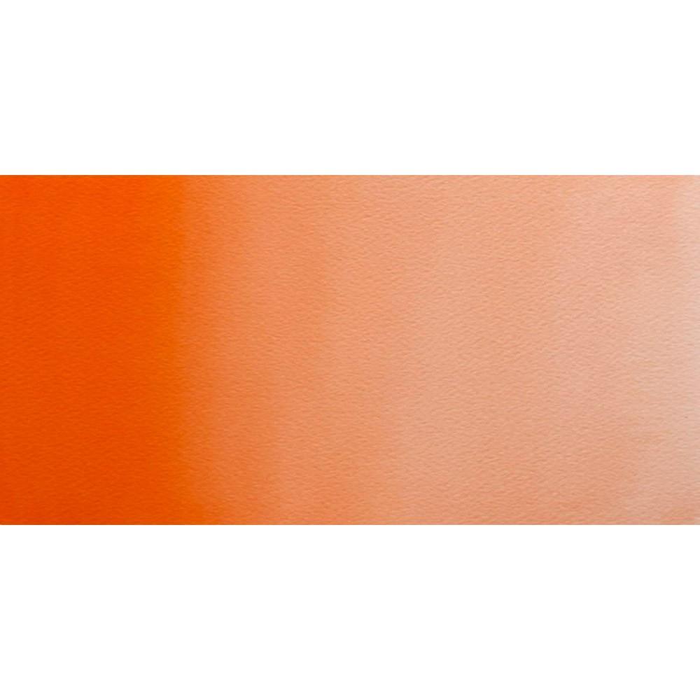 Winsor & Newton : Professional Watercolour Paint : Half Pan : Winsor Orange (Red Shade)