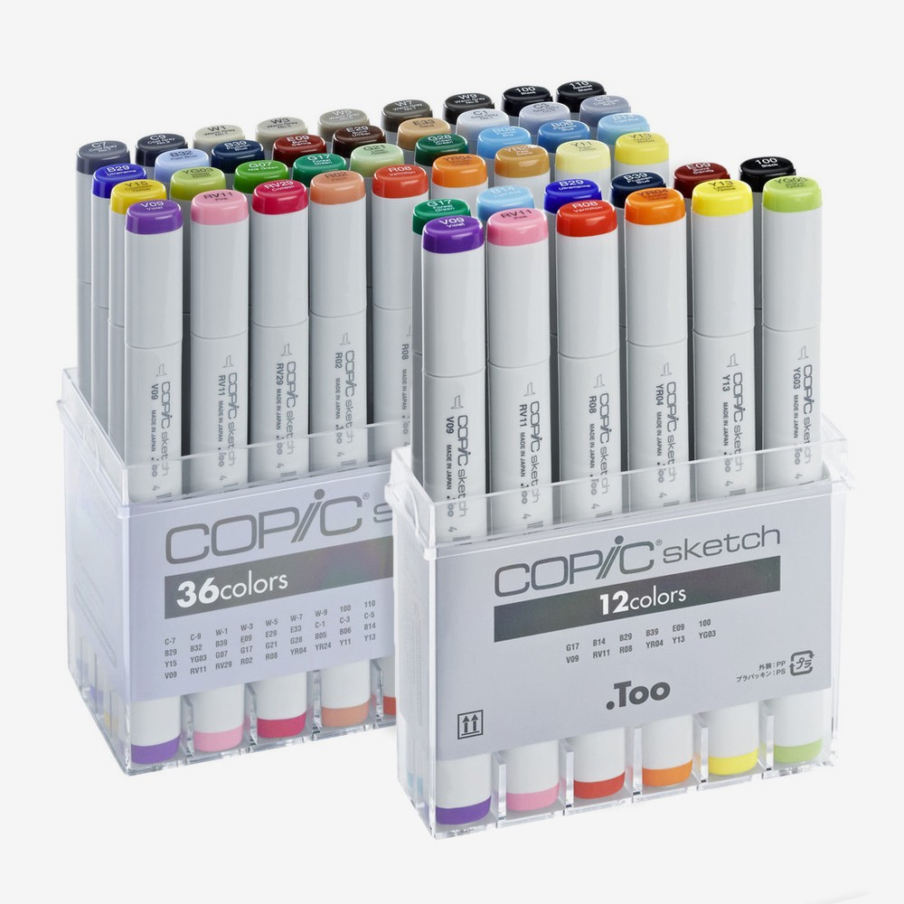 Copic : Sketch Marker Sets | Jackson's Art Supplies
