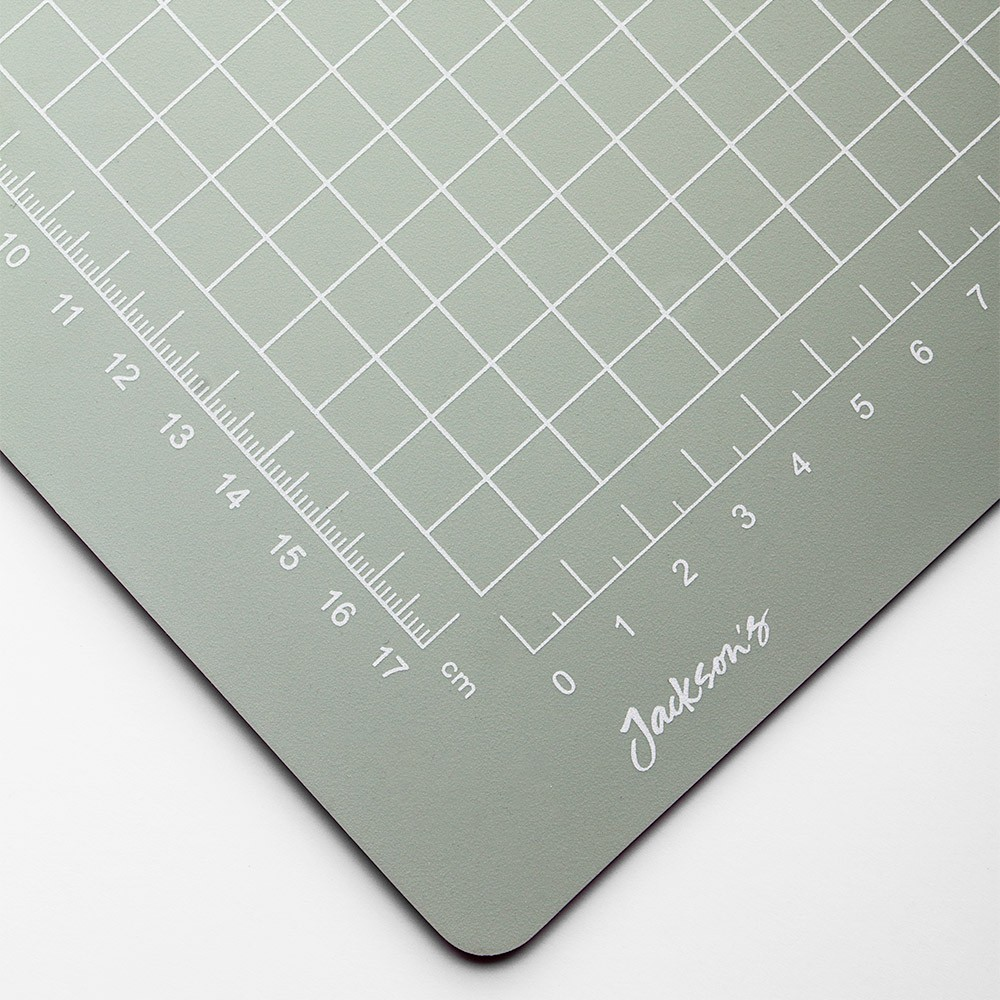 Jackson S A1 Grey Cutting Mat Double Sided Cm Amp Inch