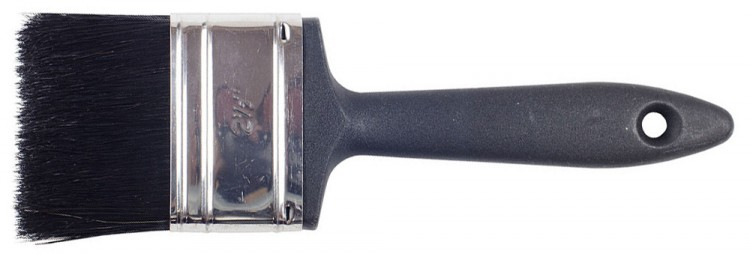RTF Granville : Dec. Brush Plastic Handle : 2.5 in