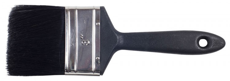 RTF Granville : Dec. Brush Plastic Handle : 3 in