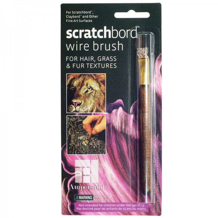 Ampersand : Scratchbord Wire Brush